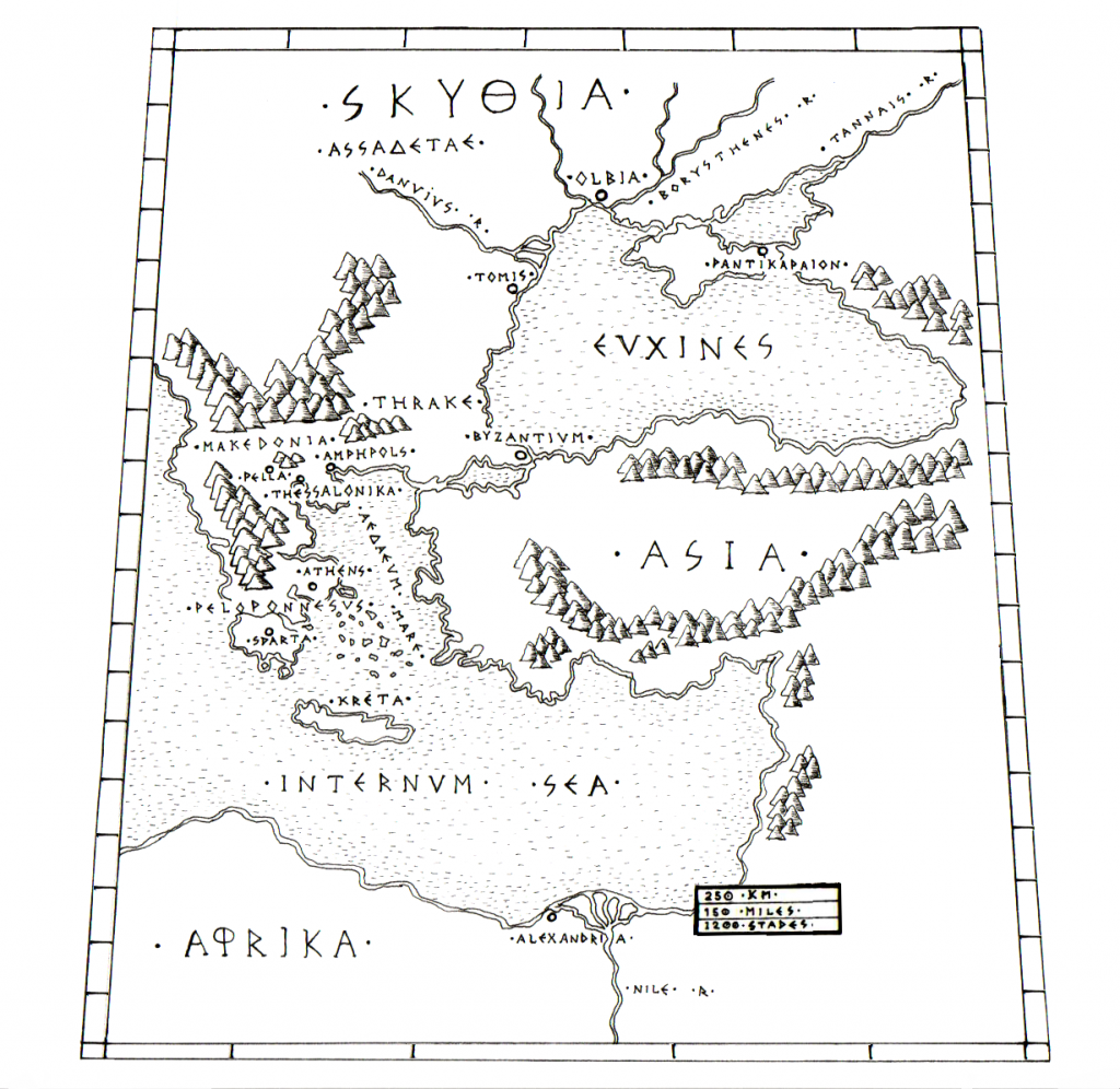 Map of the Euxine